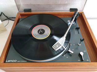 Classic Lenco B55 Idler Drive Turntable Record LP Player
