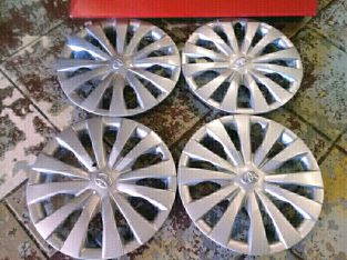 14 Inch TOYOTA ETIOS Wheel Cover Caps 14 inch A Set of Four On Sale