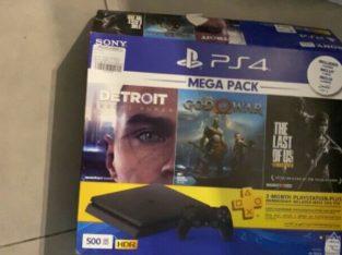 PS4 slim 500gig