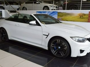 2016 BMW M4 Convertible Competition M-DCT, White with 79800km