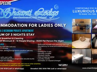ACCOMMODATION FOR LADIES ONLY