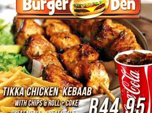 Tikka Chicken Kebaab