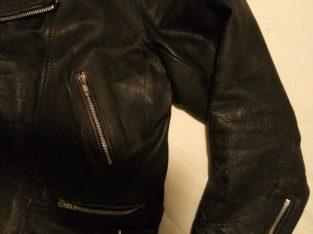 BLL Vintage Leather Biker Jacket