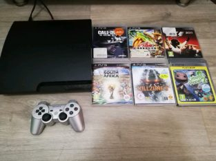 Ps3 160gig slim with games R1900