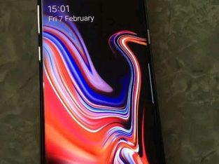 Samsung galaxy note 9 128gb black for sale