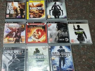 10 x PS3 Action games sold as bundle